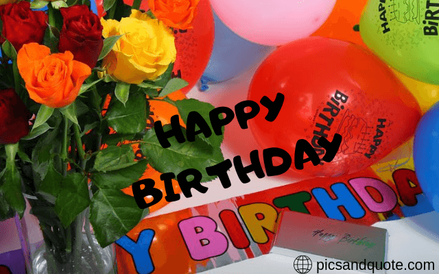 happy birthday images with roses