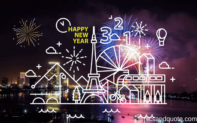 happy new year images for children
