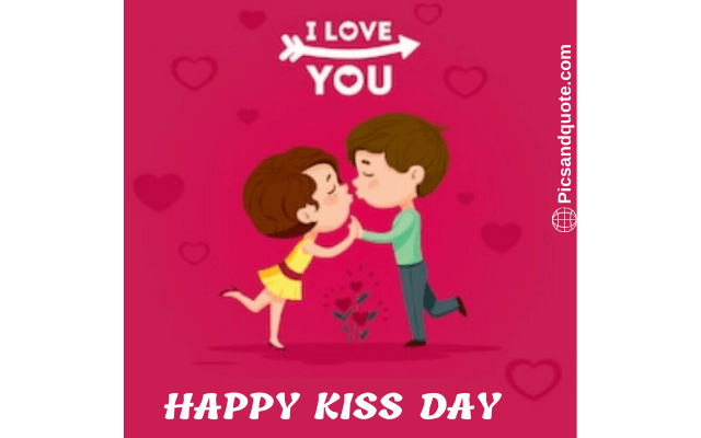 kiss day images gift