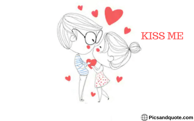 happy kiss day images gallery