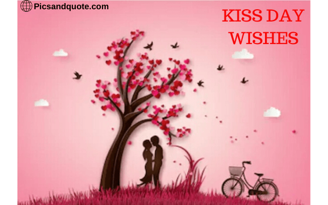 kiss day images animated