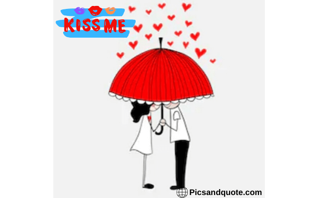 kiss day images and quotes