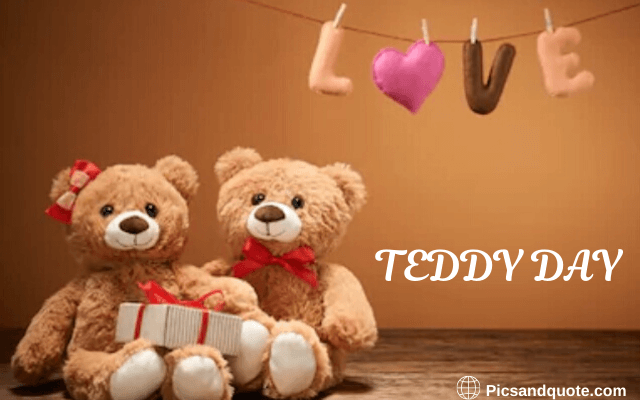teddy day images gif download