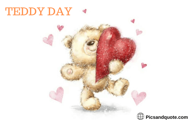 teddy day images friendship