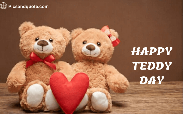 happy teddy day images for gf