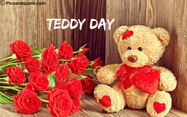 happy teddy day images love