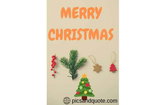 merry christmas thought