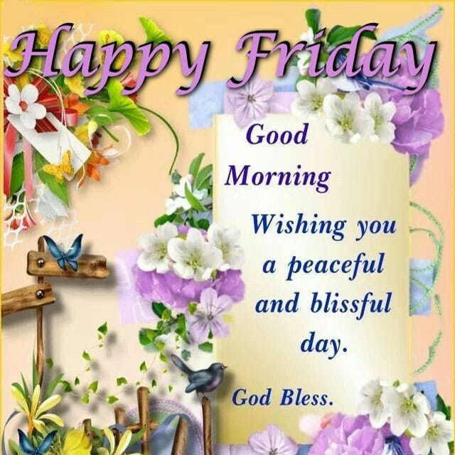 Happy Friday Wishes and Messages 3