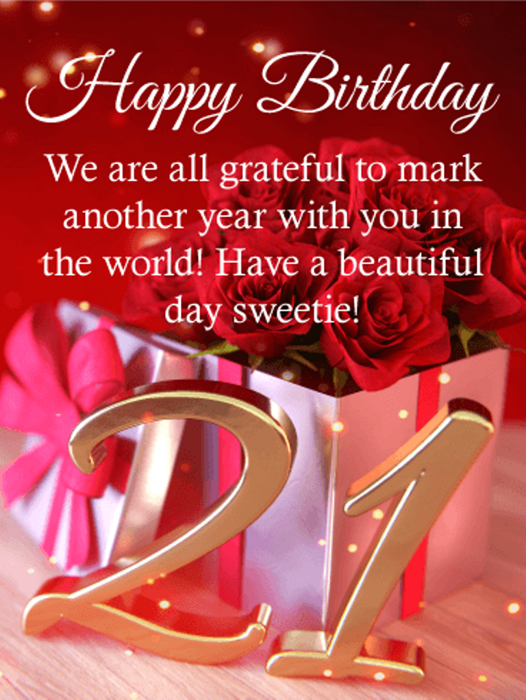 EXCELLENT Happy 21st Birthday Wishes and Quotes